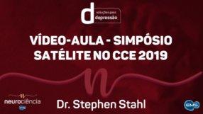 Vídeo-aula com o Prof. Stephen Stahl durante o Simpósio Satélite da EMS no CCE 2019