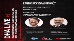 DHA Live: Medidas domiciliares de pressão arterial