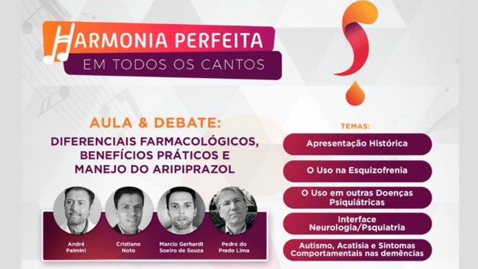 HARMONIA PERFEITA-BENEFÍCIOS E MANEJO: ARIPIPRAZOL
