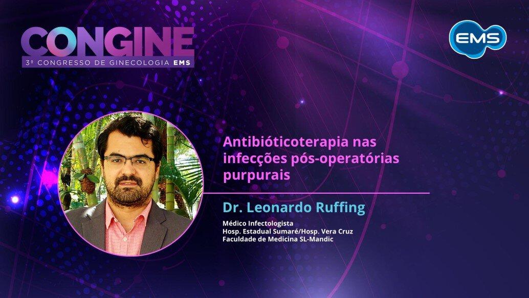 CONGINE: Antibióticoterapia nas infecções pós-operatórias purpurais
