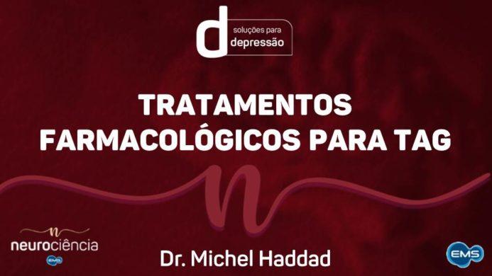 Tratamentos farmacológicos para TAG